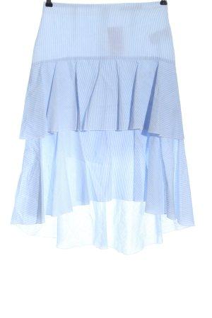 Oui Spódnica midi niebieski Na całej powierzchni W stylu casual