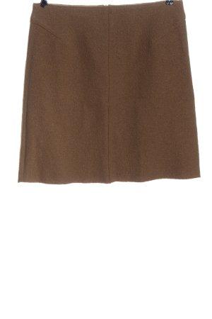 Oui Mini-jupe brun style décontracté