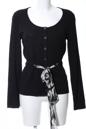oui Moments Cardigan schwarz Business-Look