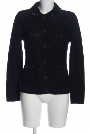 oui Moments Cardigan schwarz Casual-Look