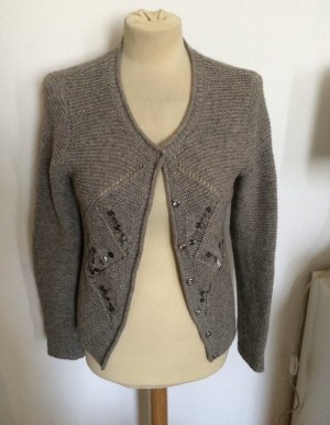 Oui Moments Statement Cardigan Wolle Gr 36