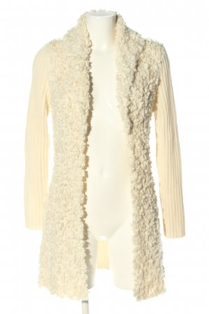 oui Moments Strick Cardigan creme Casual-Look