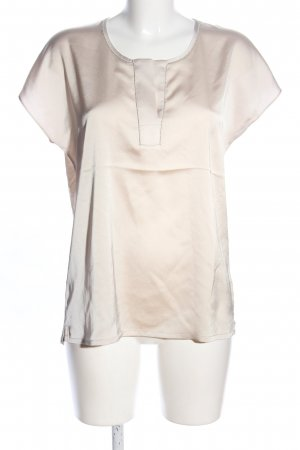Oui Oversized Bluse creme-wollweiß Casual-Look