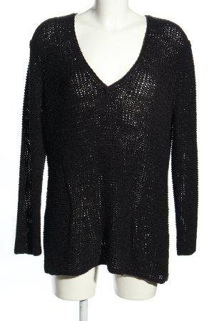 Oui Oversized Sweater black casual look