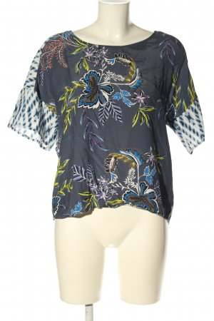 Oui Print-Shirt grafisches Muster Casual-Look