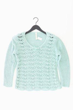 Oui Pullover blau Größe 46