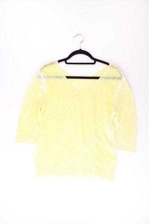 Oui Pullover gelb Größe 38
