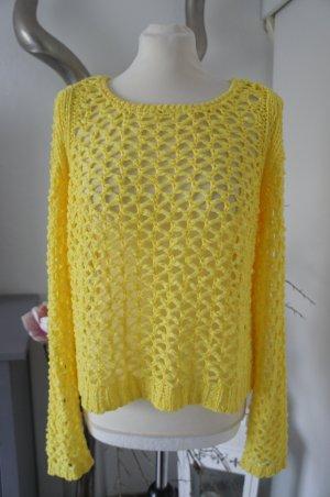 OUI Pullover Größe S Netzpullover auch für den Sommer