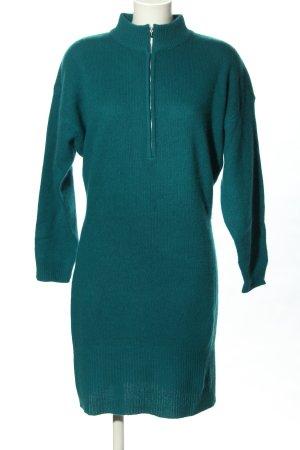 Oui Pulloverkleid grün Casual-Look