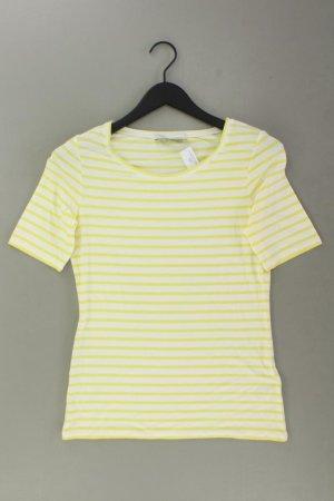 Oui T-shirt rayé jaune-jaune fluo-jaune citron vert-jaune foncé viscose