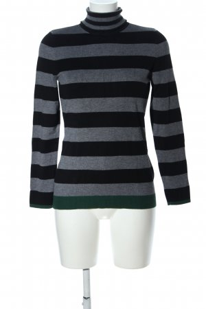 Oui Turtleneck Sweater flecked casual look