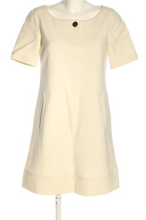 Oui Set Vestido ceñido de tubo crema look casual