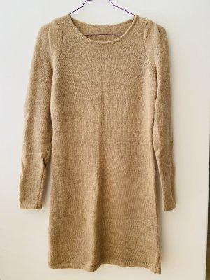 Oui Set Robe en laine beige