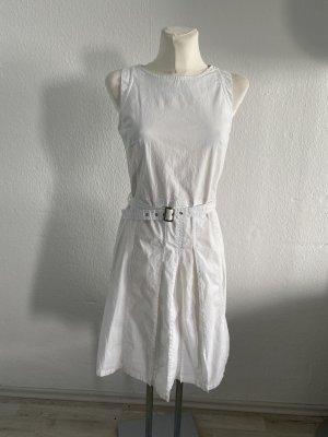 Oui set Kleid weiss 36 sommer Kleid Etuikleid