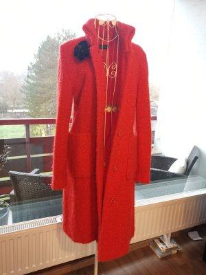Oui Set Gabardina tipo vestido rojo