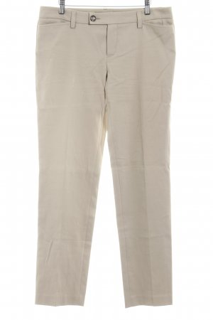 Oui Set Stoffhose beige Casual-Look