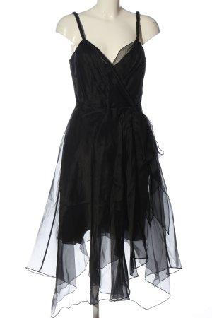 Oui Set Trägerkleid schwarz Elegant