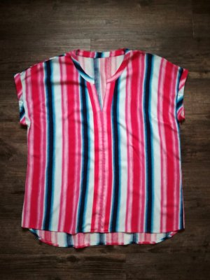 *oui* Shirt, Kurzarmbluse / mehrfarbig gemustert / Gr. 40 / NP 49,95€ - neuwertig!