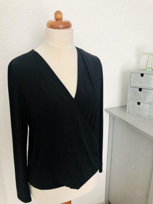 Oui Wraparound Shirt black