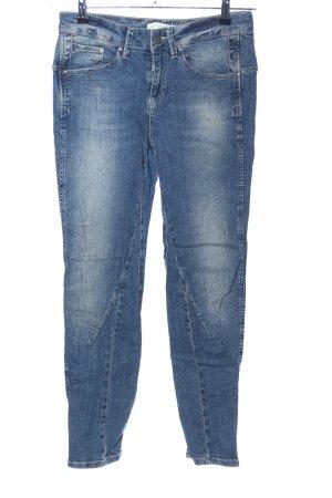 Oui Skinny Jeans blau Casual-Look