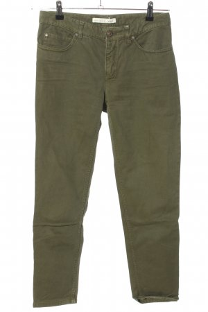Oui Slim Jeans khaki Casual-Look
