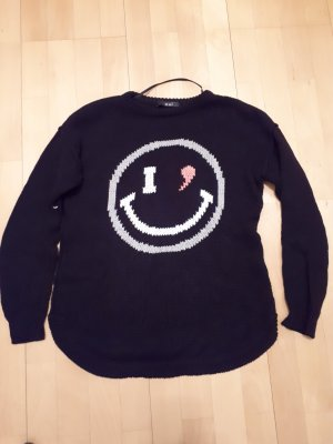 OUI SMILEY PULLOVER