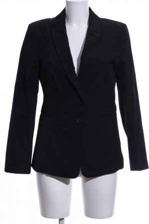 Oui Smoking-Blazer schwarz Business-Look