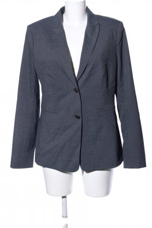 Oui Smoking-Blazer schwarz Webmuster Business-Look