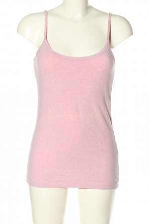 Oui Spaghetti Strap Top pink flecked casual look