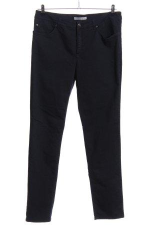 Oui Straight-Leg Jeans schwarz Casual-Look