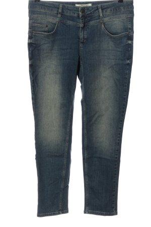 Oui Stretch Jeans blau Casual-Look