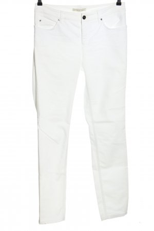 Oui Stretch Jeans weiß Casual-Look