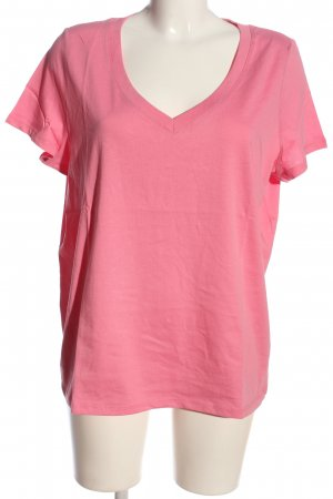 Oui T-Shirt pink Casual-Look