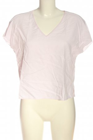 Oui V-Neck Shirt pink casual look