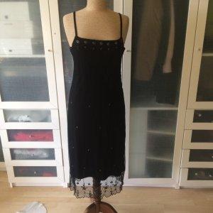 Oui Vintage Kleid mit Pailletten Gr. 38 top Zustand
