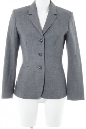 Oui Woll-Blazer grau Business-Look