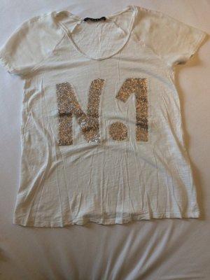 OuiSet T-Shirt mit Pailletten