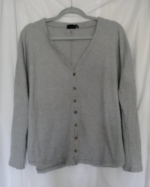Out from Under Top extra-large gris clair polyester