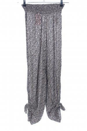 Out from Under Palazzo Pants light grey abstract pattern casual look