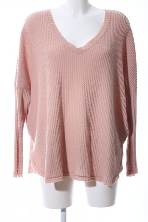 Out from Under V-Ausschnitt-Pullover pink Casual-Look