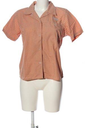 outdoor discovery Camisa de manga corta naranja claro-gris claro look casual