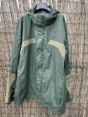 Jack Wolfskin Kurtka outdoor ciemnozielony-zielono-szary