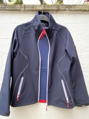 Fifty five Outdoor Jacket steel blue-brick red polyester