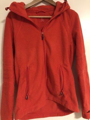 H&M Fleece jack rood