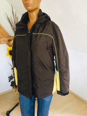 Tec Wear Outdoor jack limoen geel-zwart bruin