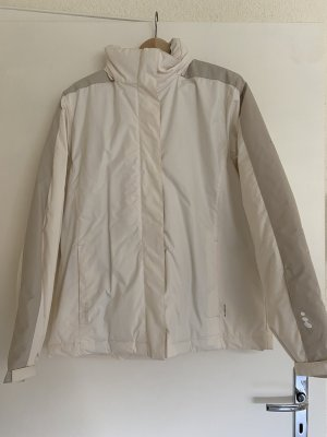 Veste d'extérieur blanc cassé