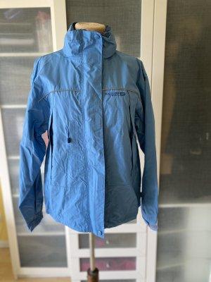 Outdoor Jacke Regen Gr 38 Funktion blau