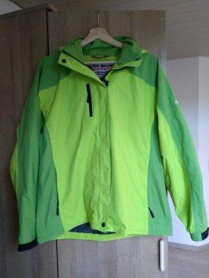 Raincoat lime-green-green