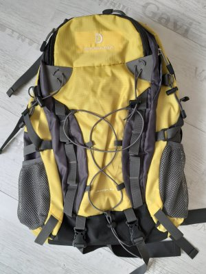 Sac à dos de randonnée jaune primevère-noir