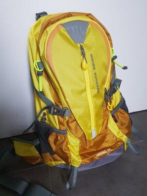 Carrito de mochila amarillo pálido